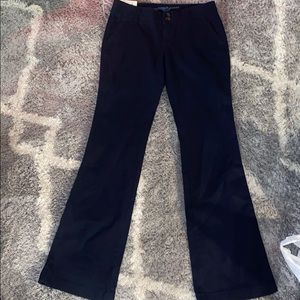 New! Sz 3 Arizona navy boot cut pants